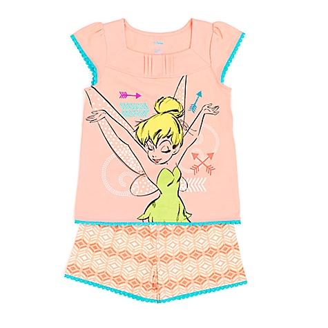 Pyjama Fée Clochette pour enfants-9-10 ans