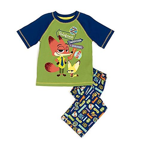 Pyjama Zootopie pour enfants-5-6 ans