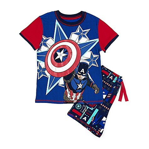 Pyjama Captain America pour enfants-13 ans