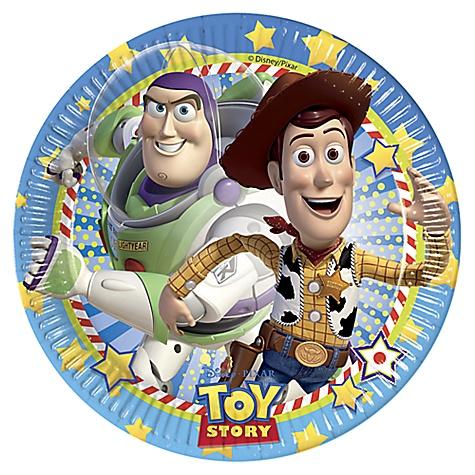 Service de 8 assiettes de fête Toy Story