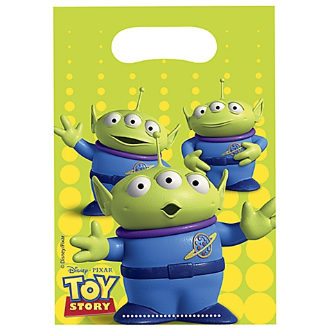 Ensemble de 6 sachets cadeaux Toy Story