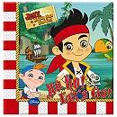 Ensemble de 20 serviettes de fête Jake et les Pirates du Pays Imaginaire