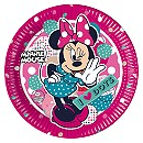 Ensemble de 8 assiettes de fête Minnie Mouse