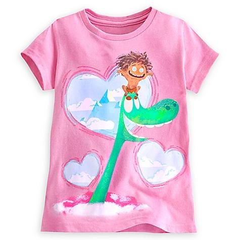 T-shirt Le Voyage d'Arlo pour enfants-4 ans