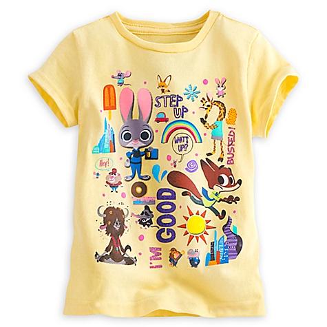 T-shirt Zootopie pour enfants-5-6 ans