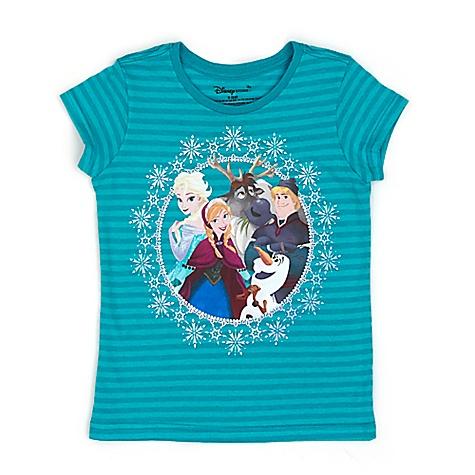 T-shirt La Reine des Neiges Cast pour enfants-5-6 ans