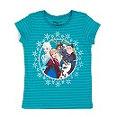 T-shirt La Reine des Neiges Cast pour enfants