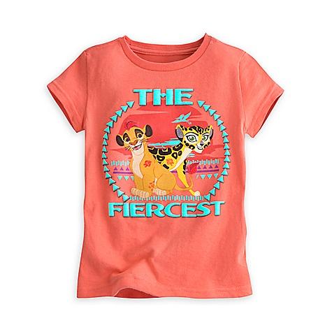 T-shirt La Garde du Roi Lion pour enfants-4 ans