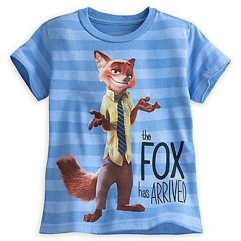 T-shirt Renard de Zootopie pour enfants-10-12 ans