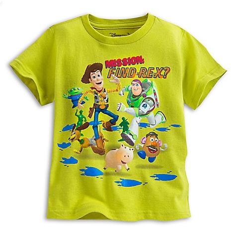 T-shirt Toy Story pour enfants-5-6 ans