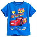 T-shirt Flash McQueen, Disney Pixar Cars pour enfants