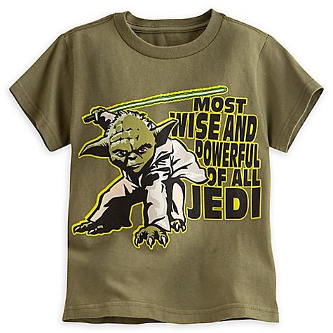 T-shirt Yoda de Star Wars pour enfants-5-6 ans