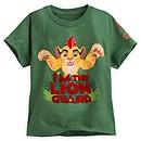 T-shirt vert La Garde du Roi Lion pour enfants