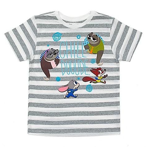 T-shirt Flash Chill pour enfants, Zootopie-4 ans