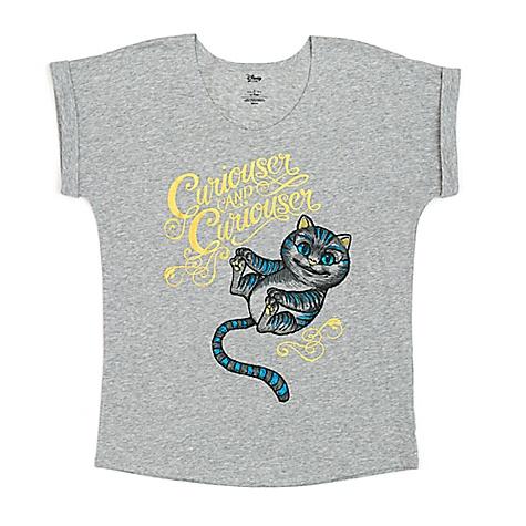 T-shirt Le Chat du Cheshire, Alice de l'Autre Côté du Miroir pour femmes-M