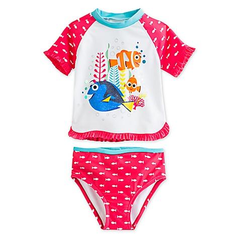 Ensemble t-shirt de bain 2 pièces Le Monde de Dory pour enfants-4 ans