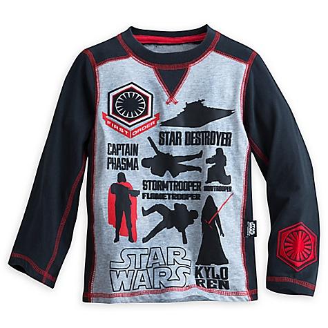 Haut Kylo Ren de Star Wars: Le Réveil de la Force pour enfants-9-10 ans