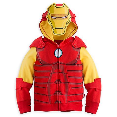 Sweatshirt à capuche Iron Man pour enfants-7-8 ans
