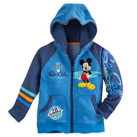 Sweatshirt à capuche Mickey Mouse pour enfants-4 ans