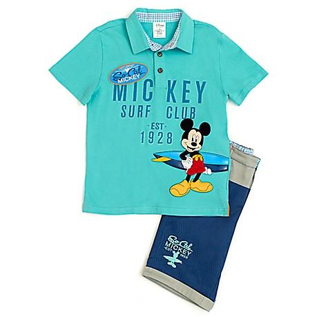 Ensemble t-shirt et short Mickey Mouse pour enfants-2 ans