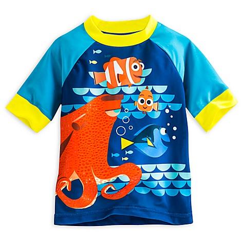 T-shirt de bain anti-UV Le Monde de Dory pour enfants-4 ans