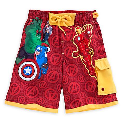Short de bain Avengers pour enfants-4 ans