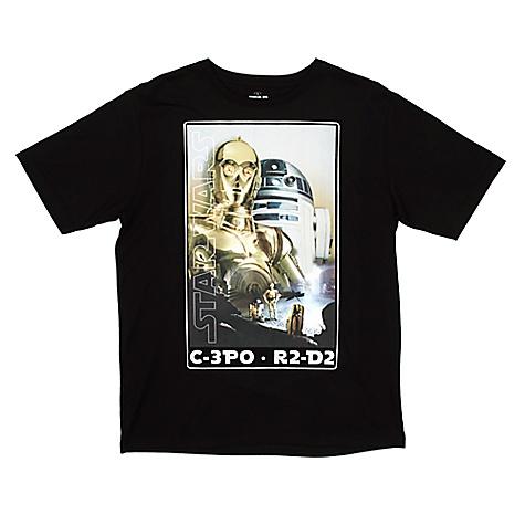 T-shirt pour hommes droïdes Star Wars-XXL