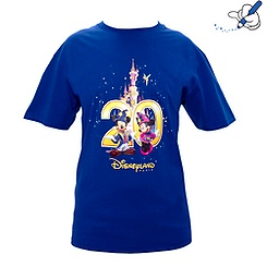 T-shirt Collection Célébration Disneyland Paris