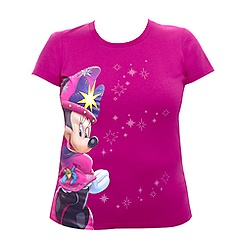 T-shirt ajusté Minnie magicienne Collection Célébration Disneyland Paris