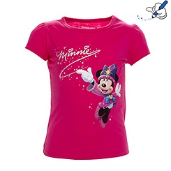 T-shirt pailleté pour fille Collection Célébration Disneyland Paris