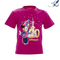 T-shirt pour fille Collection Célébration de Disneyland Paris
