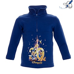 Sweat shirt pour garçon Collection Célébration de Disneyland Paris