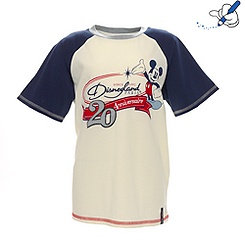 T-shirt baseball Collection Signature Disneyland Paris